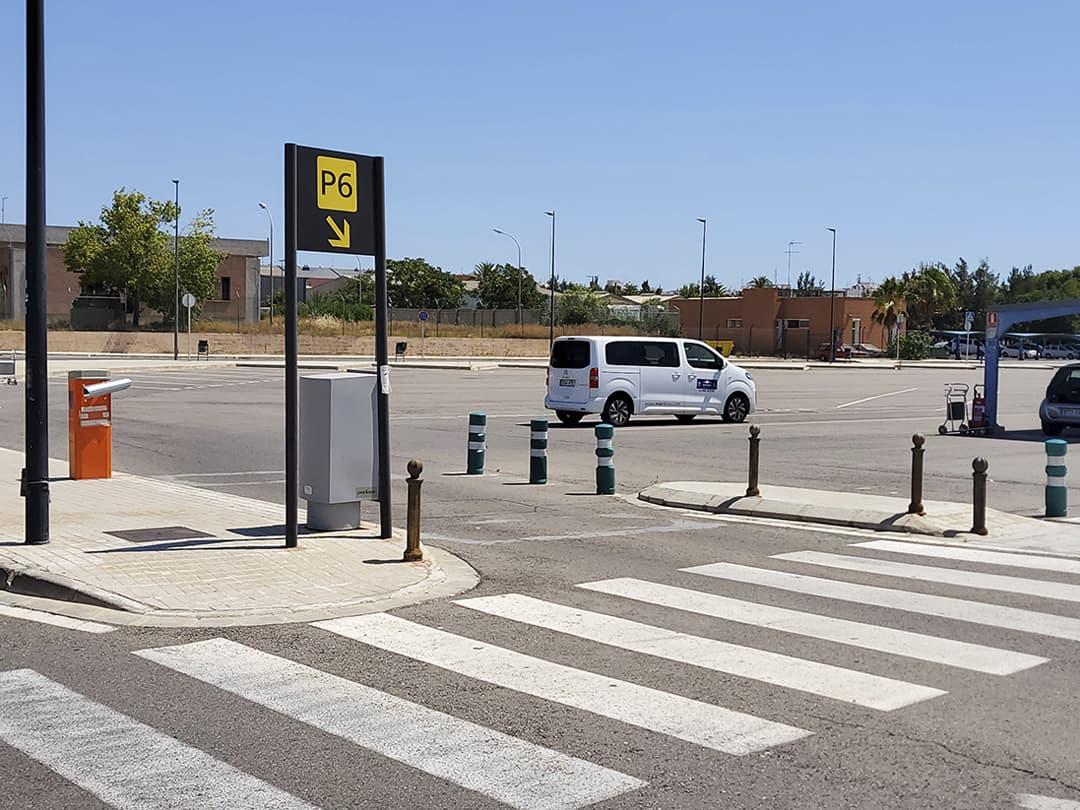 vehículo de cortesía para recogida desde aeropuerto